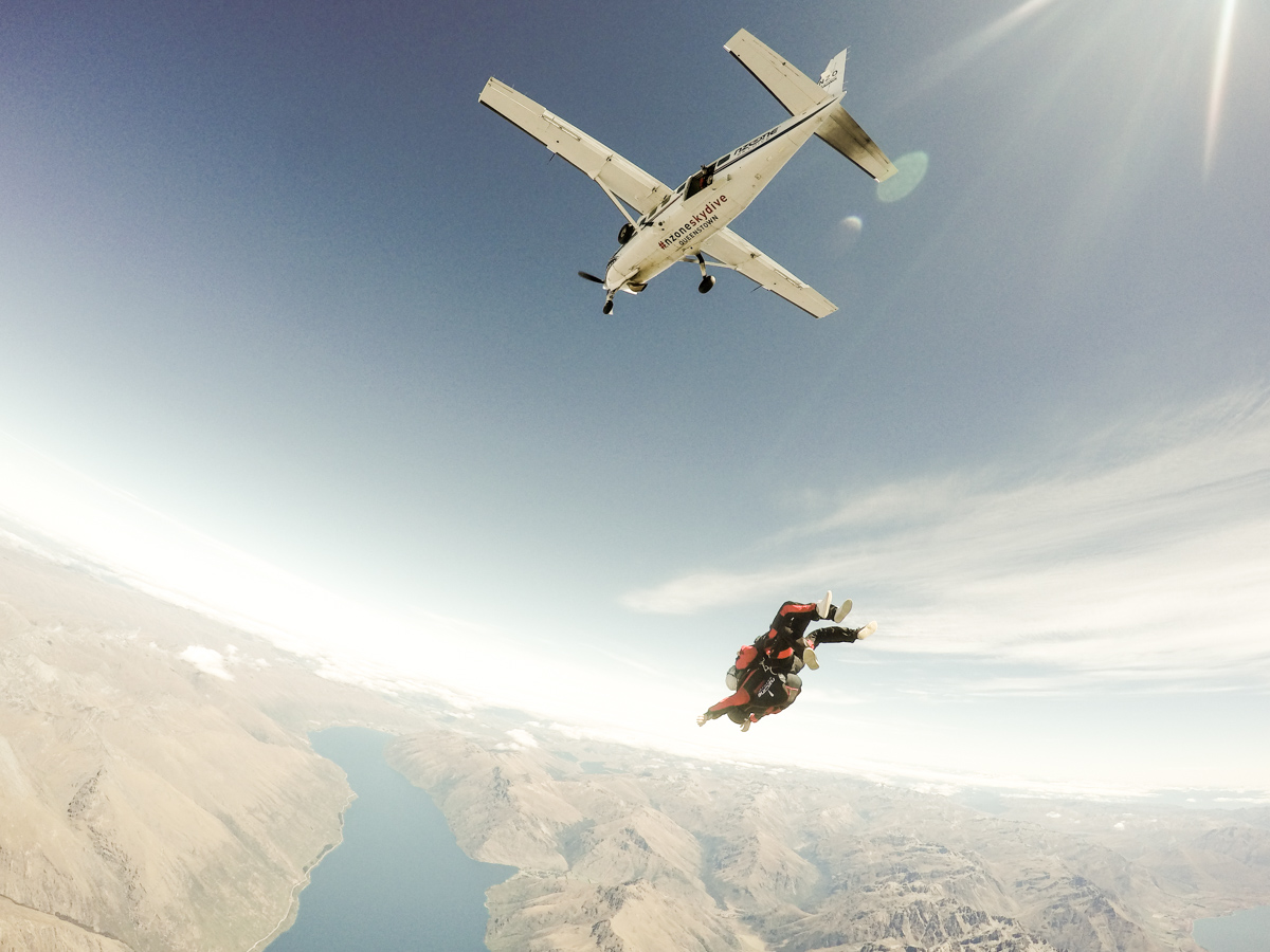 nzone skydiving Queenstown
